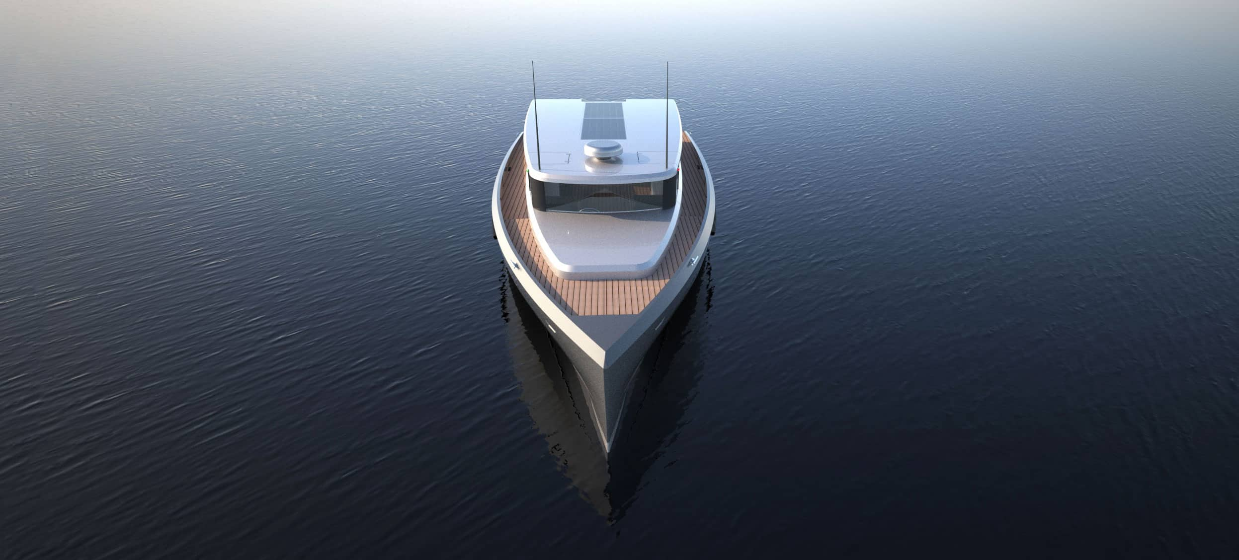 Solar electric tender boat from Soel Yachts
