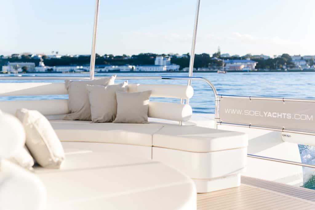 Solar electric catamaran sustainable design