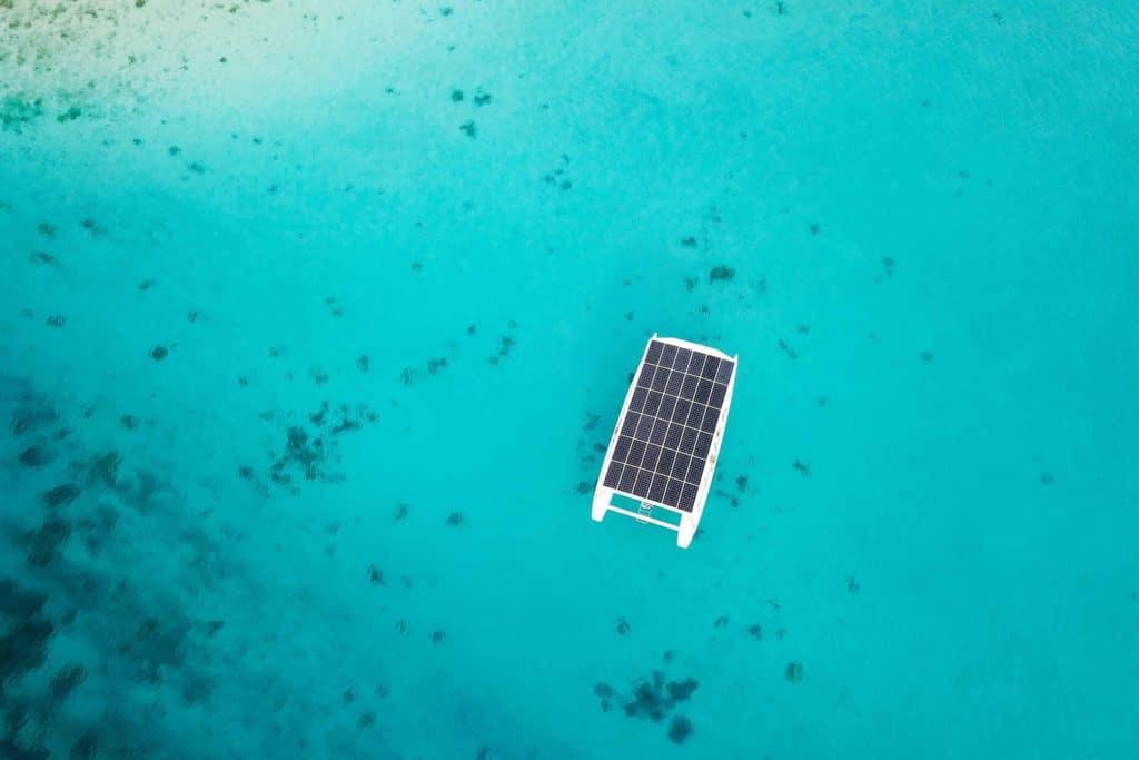 The SoelCat 12 solar electric boat by Soel Yacht